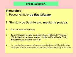 Requisitos para Revalidación de Bachillerato